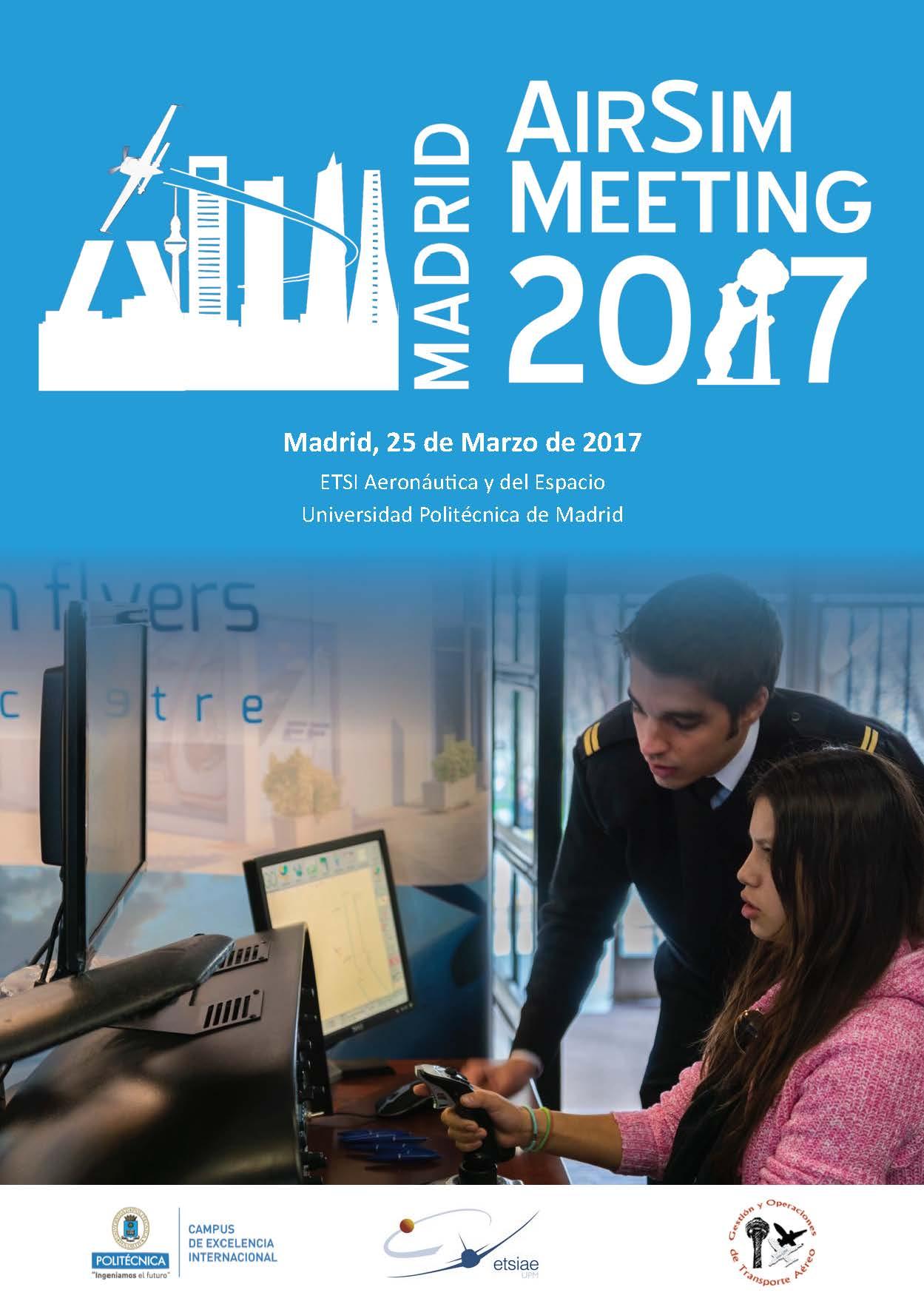 Exito de Madrid AirSim Meeting 2017